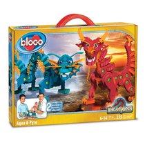 Конструктор BLOCO 30552 Драконы Воды и Огня - Bloco