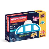 Магнитный конструктор Magformers My First Buggy Car Set - Blue - Magformers