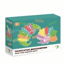 Развивающая игра DODO R300138 Полосатые динозаврики - Dodo