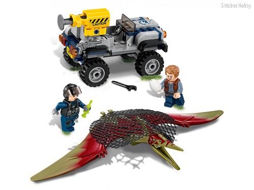 Конструктор Jurassic World Погоня за птеранодоном - Lego