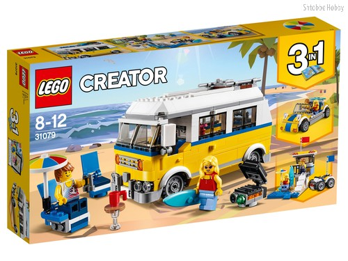 Конструктор LEGO 31079 Creator Фургон сёрферов - Lego