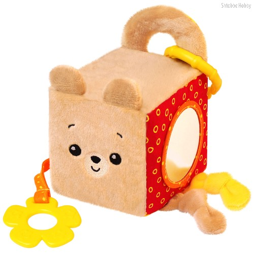 Игрушка МЯКИШИ 628 кубик мишка Барни - Мякиши