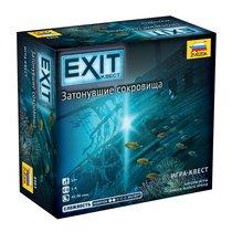 Настольная игра ZVEZDA 8983 Exit. Затонувшие сокровища - Zvezda