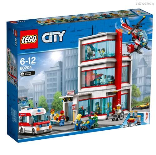 Конструктор City Town Городская больница LEGO® City - Lego
