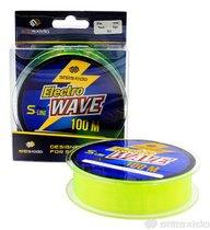 Леска Shii Saido Electro wave, 100 м, 0,286 мм, до 6,01 кг, желтая SSE100-0,286 - Shii Saido