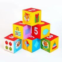 Кубики МЯКИШИ 473 Три Кота математика - Мякиши