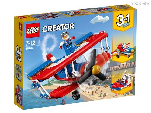 Конструктор LEGO 31076 Creator Самолёт для крутых трюков - Lego