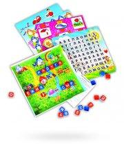 Настольная игра 10006 Эрудит дружные буквы/игровое поле прозрачное - БИПЛАНТ