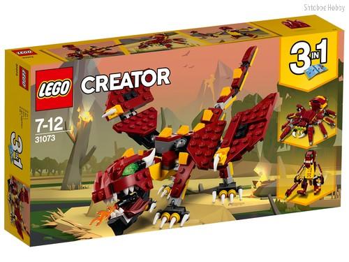 Конструктор LEGO 31073 Creator Мифические существа - Lego