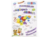 Развивающая игра KNOPA 87070 Шустрые пуговки - Knopa
