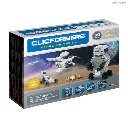 Конструктор Space set mini 30 деталей - Clicformers