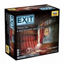 Настольная игра ZVEZDA 8980 Exit Квест. Убийство в восточном экспрессе - Zvezda