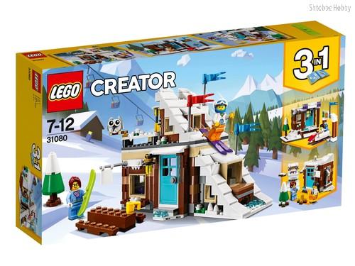 Конструктор LEGO 31080 Creator Зимние каникулы (модульная сборка) - Lego