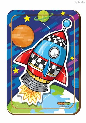 Пазл WOODLAND 012206 Ракета 1 - WOODLAND