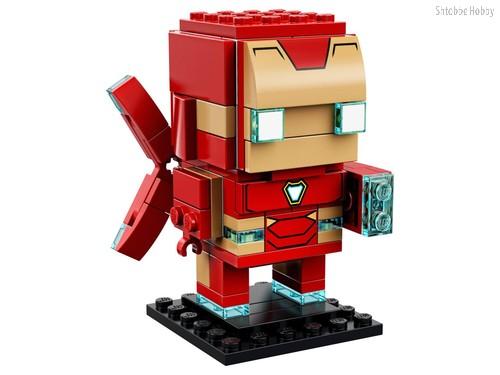 Конструктор BrickHeadz Железный человек - Lego