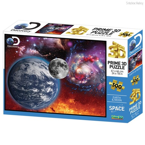 Стерео пазл PRIME 3D 10081 Космический пейзаж - Prime 3d