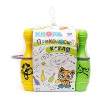 Игровой набор KNOPA 82026 Прикольные кегли малые