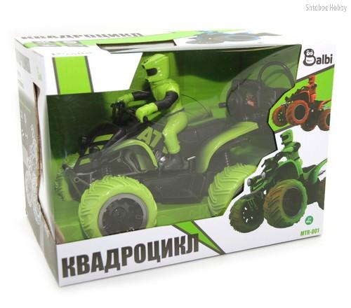 Машина на РУ BALBI MTR-001-G Квадроцикл зеленый - Balbi