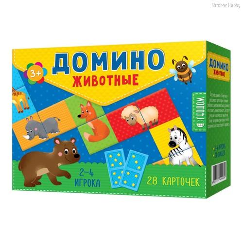 Домино ГЕОДОМ 4030 Животные - Геодом