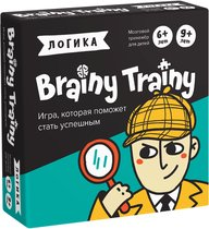 Игра-головоломка BRAINY TRAINY УМ266 Логика - Банда умников