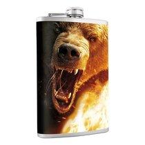 Фляжка Helios Медведь 240 мл HS-F-B-A21-1 - Тонар
