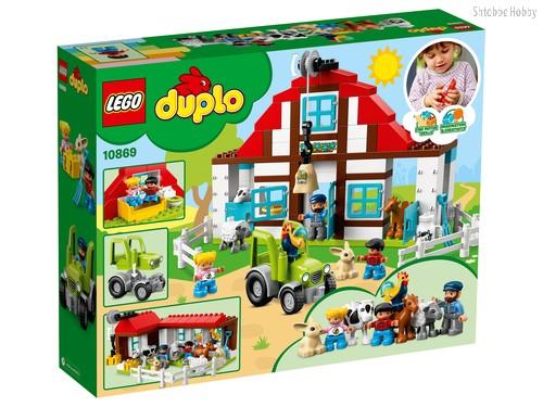 Конструктор LEGO 10869 Duplo Town День на ферме - Lego