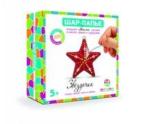 Набор для творчества ШАР-ПАПЬЕ В0233 Звездочка в коробке со стразами - Шар-Папье