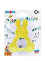 Прорезыватель KNOPA 80078 Зайка, желтый - Knopa