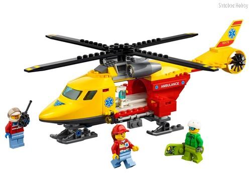 Конструктор City Great Vehicles Вертолёт скорой помощи - Lego