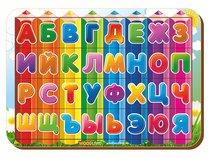 Рамка-вкладыш Изучаем буквы и алфавит 3 - WOODLAND