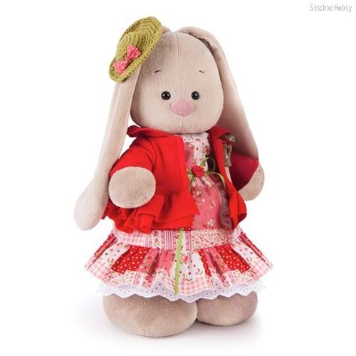Мягкая игрушка BUDI BASA StM-217 Зайка Ми Маково-красный (большая) - Буди Баса