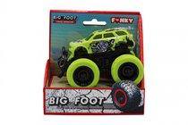 Машина пластиковая FUNKY TOYS 60008 с краш-эффектом, пул-бэк, зелёная - Funky Toys