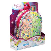 Набор для творчества ORIGAMI 5648 Рюкзак голографический для раскрашивания. Сказочная страна - Origami