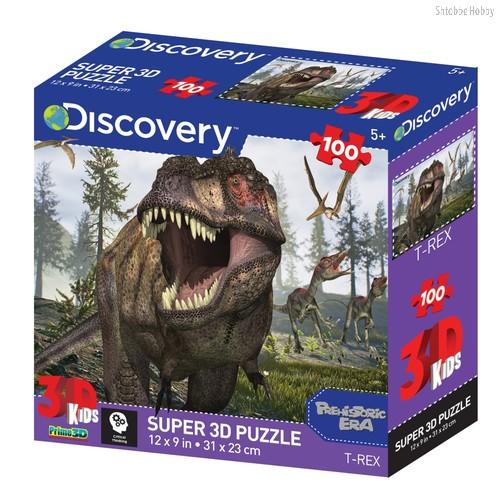 Стерео пазл PRIME 3D 13721 Тираннозавр - Prime 3d