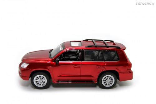 Машина на ру BALBI HQ20130 Lexus LX 570 1:24 красный - Balbi