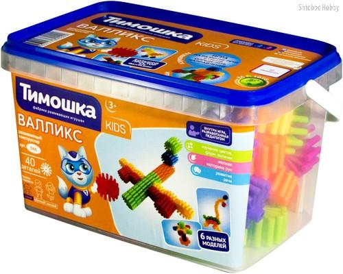 Конструктор ТИМОШКА 46 Валликс 40 деталей - Тимошка