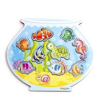 Игровой набор WOODLANDTOYS 062201 Магнитная рыбалка Аквариум - WOODLAND