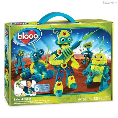 Конструктор BLOCO 30442 Вторжение Роботов - Bloco