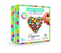 Набор для творчества ШАР-ПАПЬЕ В0253 Сердце в коробке со стразами - Шар-Папье