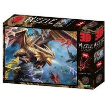 Стерео пазл PRIME 3D 10328 Клан дракона - Prime 3d