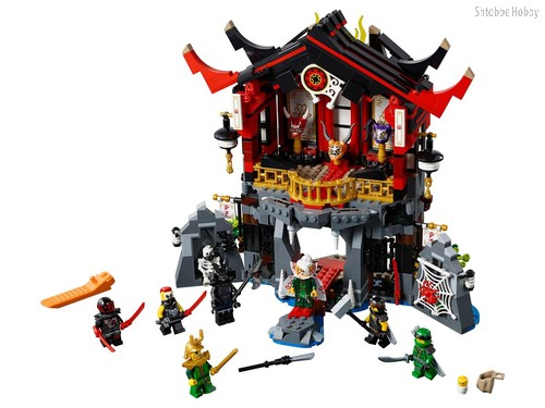 Конструктор Ninjago Храм воскресения - Lego