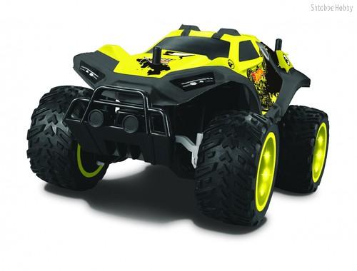 Hot Wheels, багги, цвет желтый - 1Toy