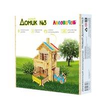 Конструктор ЛЕСОВИЧОК les 029 Новый Домик №3 набор из 185 деталей - Лесовичок