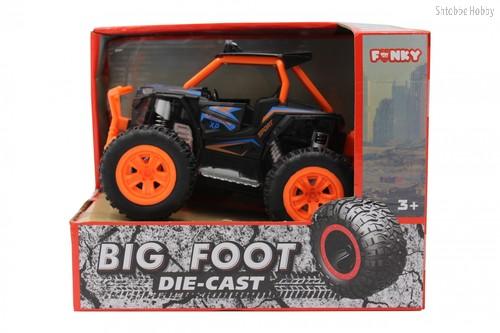 Машина пластиковая FUNKY TOYS FT61062 Багги die-cast, инерционный, оранжевый, 1:24 - Funky Toys