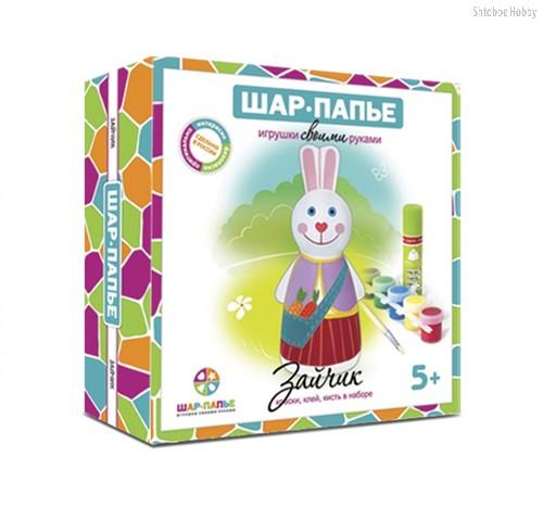 Набор для творчества ШАР-ПАПЬЕ В01591 Зайчик - Шар-Папье