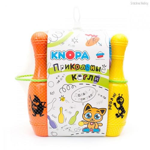 Игровой набор KNOPA 82028 Прикольные кегли Дуэт - Knopa