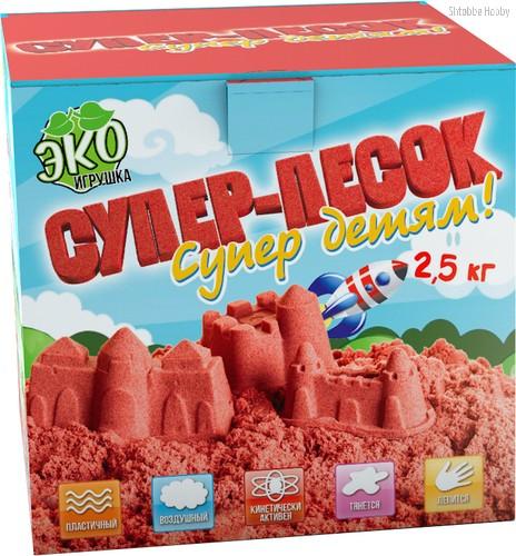 Песок ИННОВАЦИИ ДЛЯ ДЕТЕЙ 853 красный 2,5 кг - Инновации Для Детей