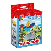 Развивающая игра VLADI TOYS VT3106-04 Мой маленький мир Транспорт - Vladi Toys