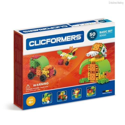 Конструктор Basic Set 50 деталей - Clicformers
