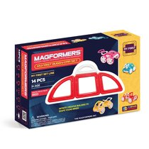 Магнитный конструктор Magformers My First Buggy Car Set - Red - Magformers